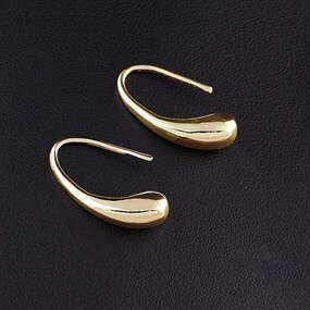 Minimalist Earrings - Golden Colour